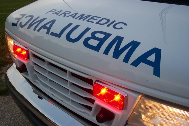 close-up-of-the-front-of-a-canadian-ontario-ambulance-1441977