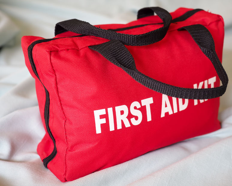 53423429 - first aid kit closeup