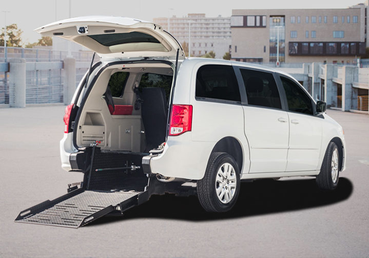 Wheelchair-accessible-van